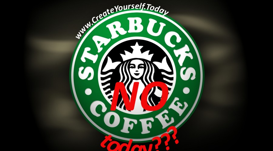 Starbucks – NO COFFEE???!!!