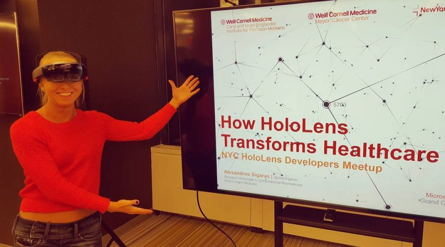 HoloLens and How TECH SAVES LIVES. Personalized YOUR nutrition and weight loss.