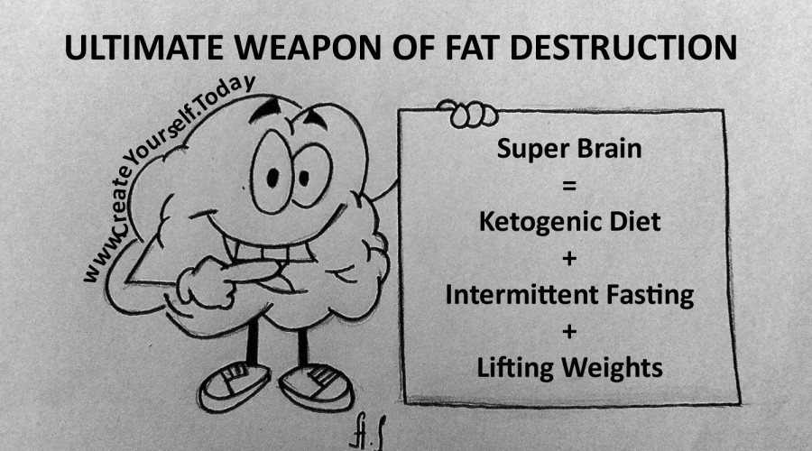 Ultimate Weapon of Fat Destruction. Easy Weight Loss: Solution is Between Your Ears.